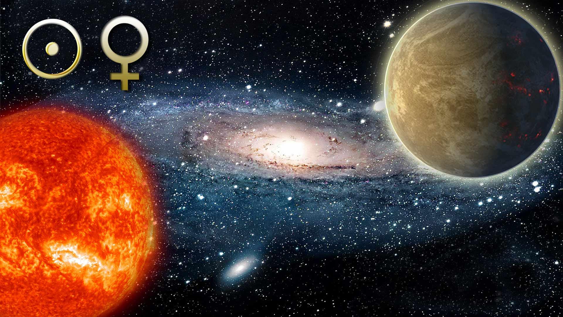 Аспекты Луна - Венера