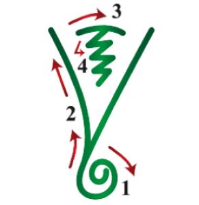 символ рейка думо как рисовать