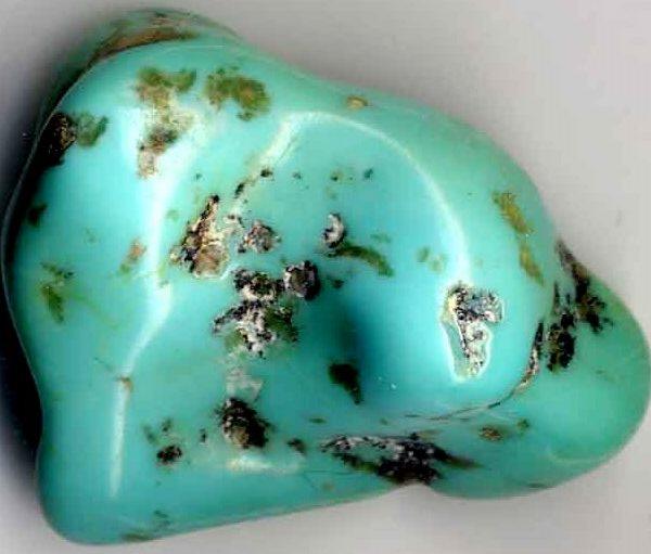 Виды бирюзы - фото минерала