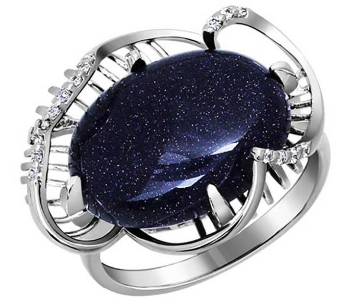Синий минерал авантюрин
