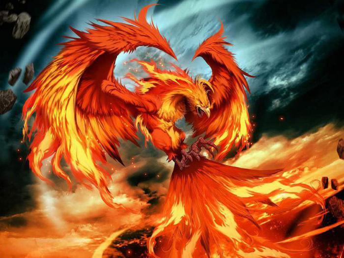 легенда о птице феникс