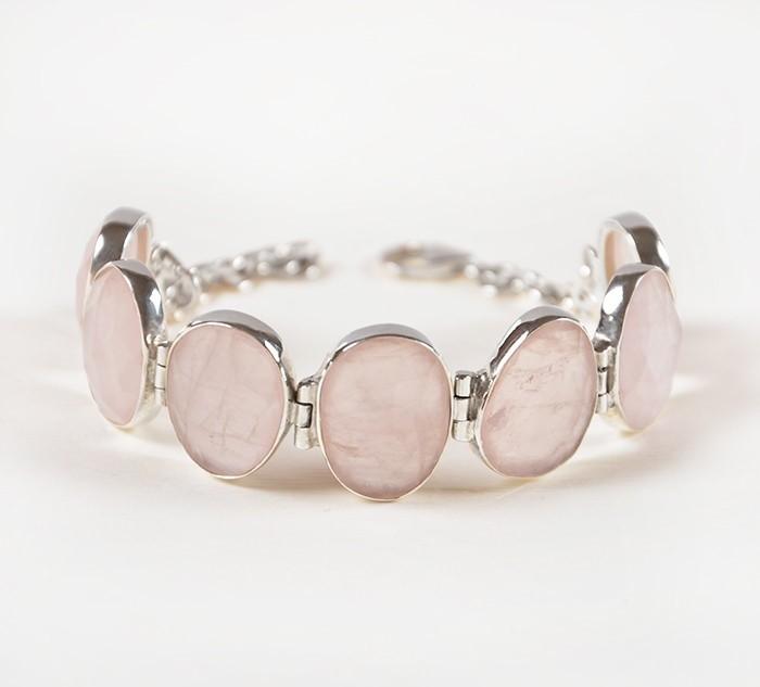 целебные свойства браслета с розовым кварцем