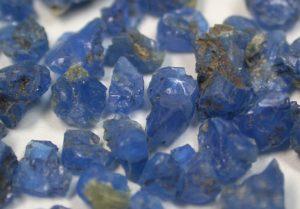 Ганошпинель (голубая)