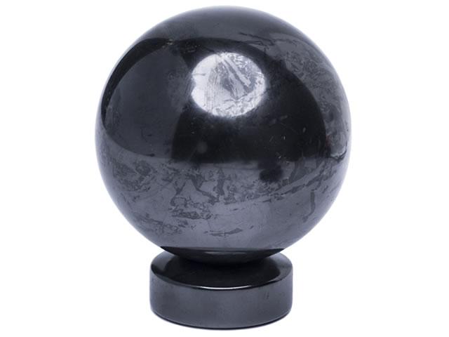 Магический шар из шунгита для ритуалов